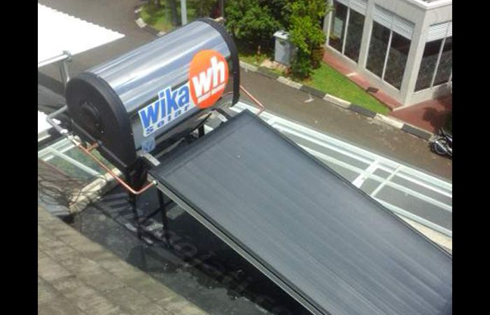 Wika Solar Water Heaters Bp. Raditya Pinang Ranti Mansion pasang raditya